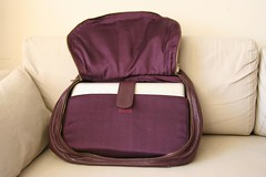 Alesya Bags - Exquisite Eggplant (hidden sleeve)