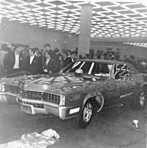 Dave Zackary: The all steel, flip-top Eldorado Funny Car