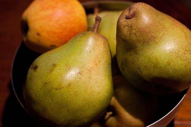 Mmmm. Pears!