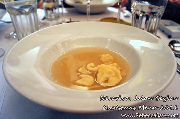 Nerovivo, Jalan Ceylon - christmas menu 2011-3