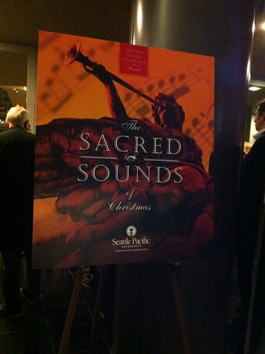 Sacred Sounds of Christmas Poster by kiki5253