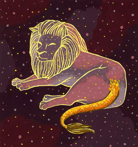 Einstein's Lion