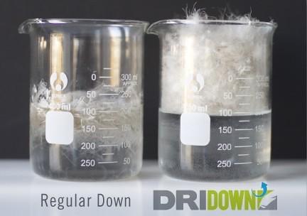 water-resistantdown