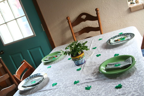 St. Patrick's Day Table