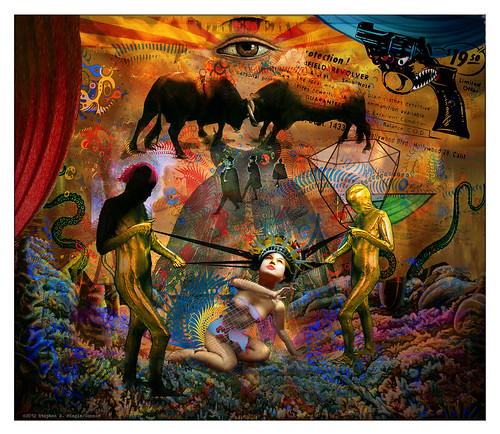 fukushima daiichi pantomime by Stephen R Mingle /Gonzo®