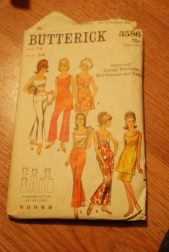 86 vintage pattern