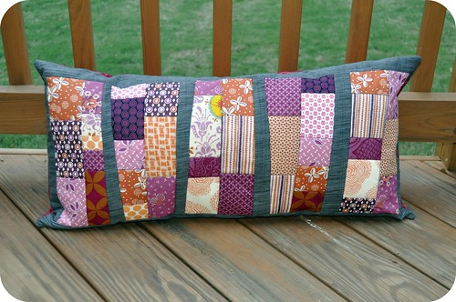 Pillow Talk Swap Pillow - Finished!