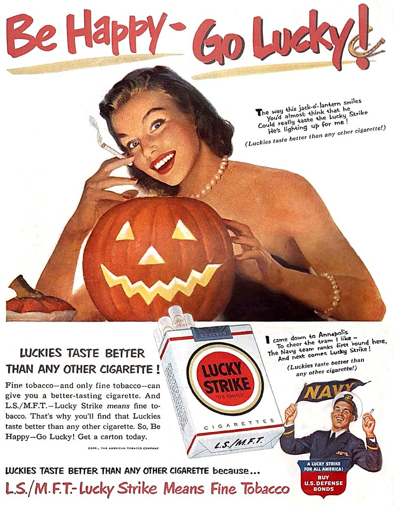 Lucky Strike - published in Life - October 1, 1951