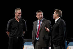 "Doug Sommer, John Pampuch and Doug Fisher, Intel Keynote ""Optimizing Java — Intel's Long Term Contributions, Keep Getting Better"", JavaOne 2011 San Francisco"