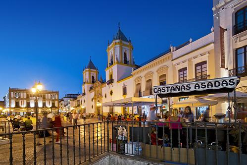 Socorro Square. Ronda. Málaga. Andalucía. Spain