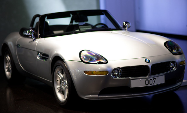 James Bond 007 Bmw Z8 Was A Roadster Car Produced By