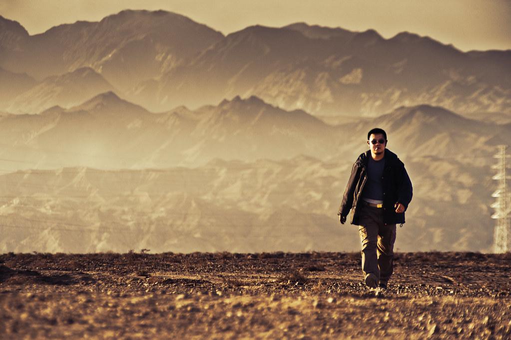 alone desert