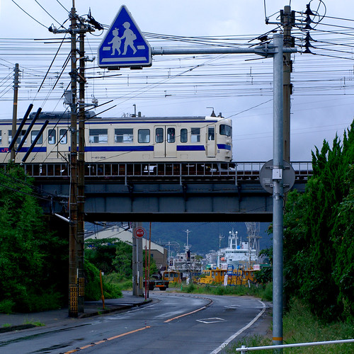 bridge station japan train 日本 電車 駅 shimonoseki 山口県 shimonosekistation yamaguchiprefecture 中国地方 下関市 chūgoku chūgokuregion japan92011 sanyōmainline