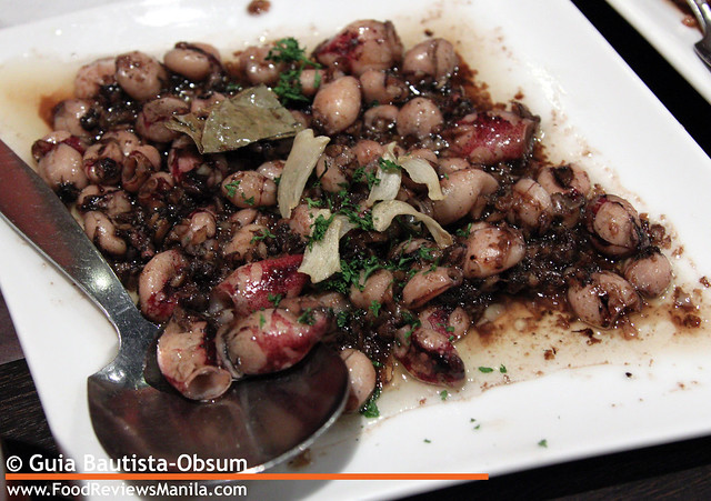 Food Reviews Manila Mesa Baby Squid in Olive Oil