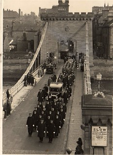 Police Funeral Inverness-shire Constabulary in Inverness Scotland 1937