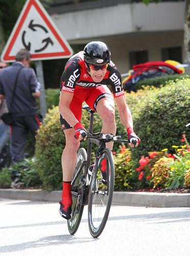 Cadel Evans Time Trial