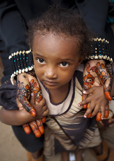 Lamu little girl - Kenya