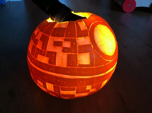 That's no moon, it's a space pumpkin