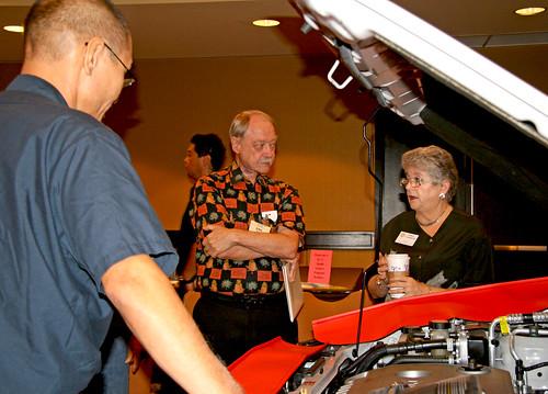 <p>Leeward automotive program hybrid car display</p>