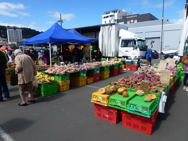 Wellington's Harbourside Market