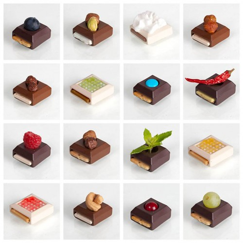 Composições de chocolate