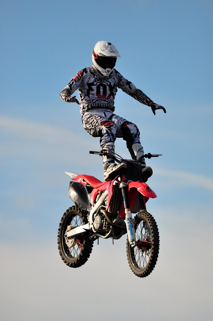 Freestyle Motocross (also known as FMX)