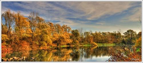 hdr jesen barve krajinskipark šturmovec