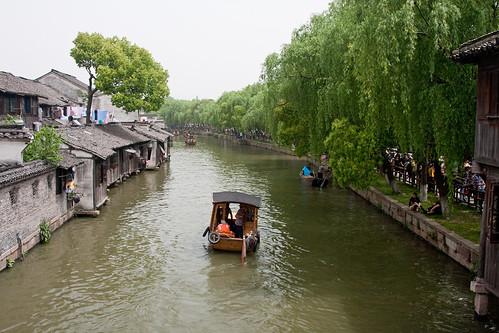 china heritage water architecture boats asia transport wuzhen zhejiang internationaltravel chn canonef24105mmf4lisusm canon40d