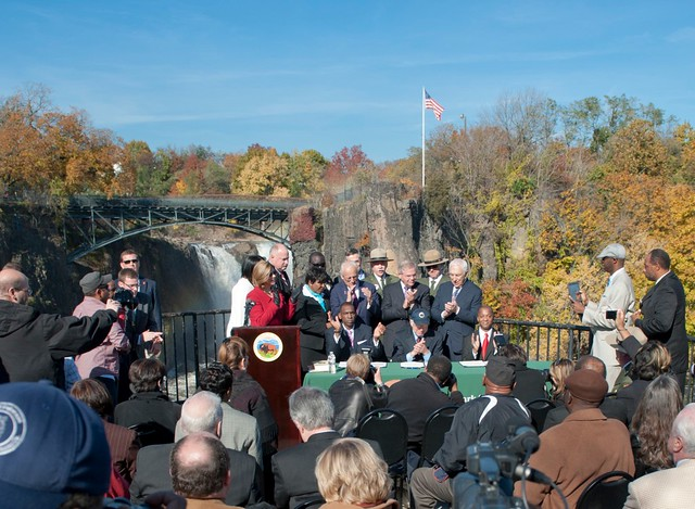 Great Falls Dedication