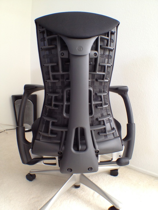the herman miller embody the ultimate office chair for. Black Bedroom Furniture Sets. Home Design Ideas