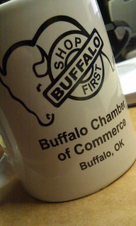 Buffalo Chamber of Commerce coffee mug