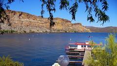 Desert Belle at dock on Saguaro Lake, Arizona
