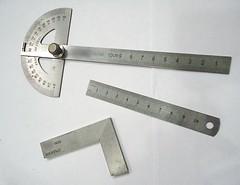blade(0.0), ruler(1.0), tool(1.0), measuring instrument(1.0),