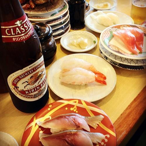海の前の寿司屋
