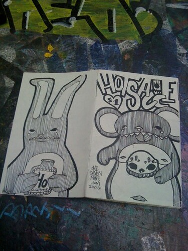 Hot Sauce Boss Zine 2006 by OneSevenNine