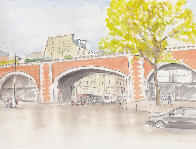 Le viaduc des arts (Paris 12ème)