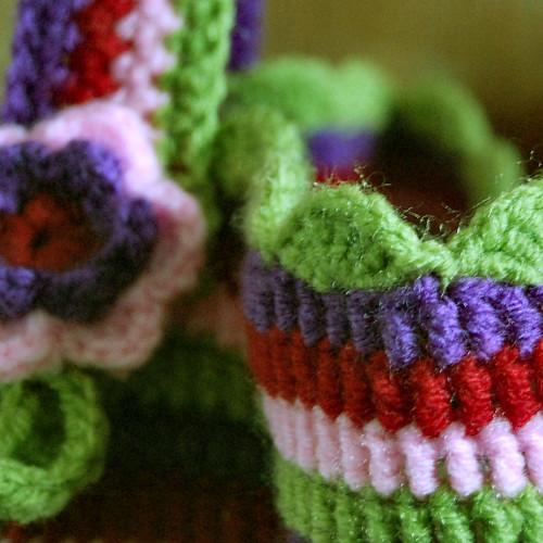 crochet bag detail by het groene kamertje