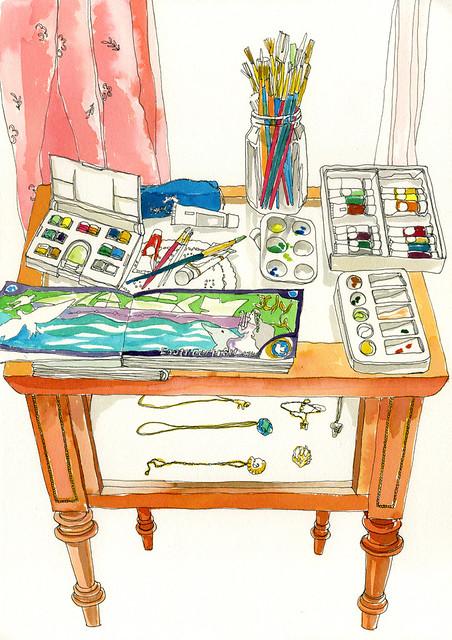 Hooka's Desk