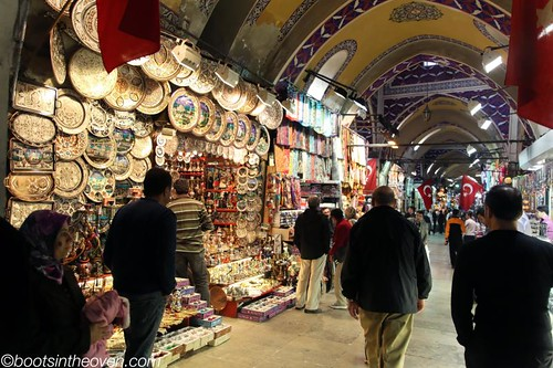 Walking in the Grand Bazaar