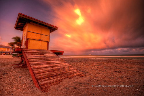 longexposure sunset beach sand lifeguard hdr sigma1020 nikond90