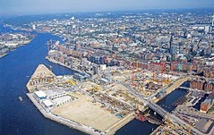 site of Hamburg HafenCity (via Hamburg, application for European Green Capital)