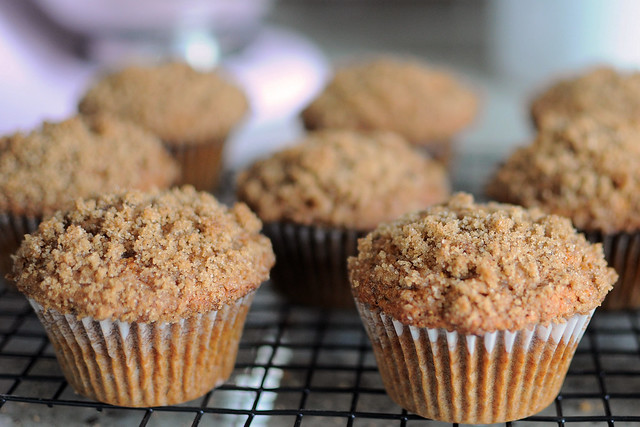 Healthier Banana Crumb Muffins — Whisks and Whimsy