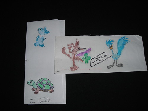 Roadrunner, Turtle,   Bluebirds, prison art