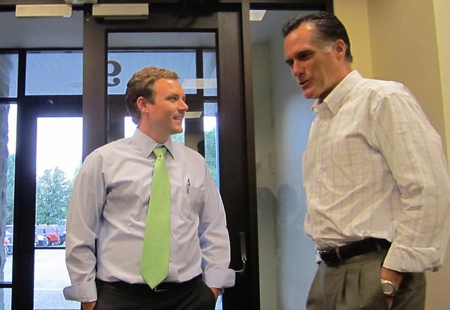 Mitt Romney in Merrimack