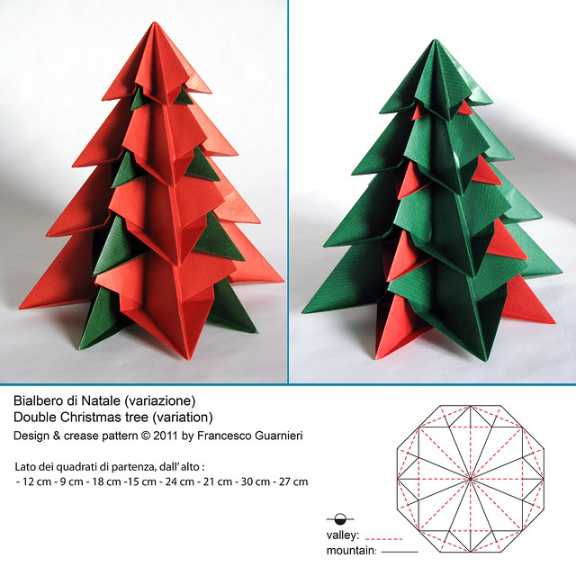 Double christmas tree variation flickr photo sharing