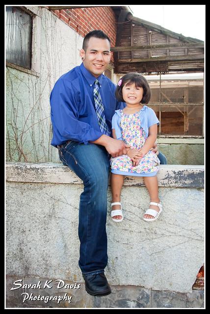 Alivia & Daddy