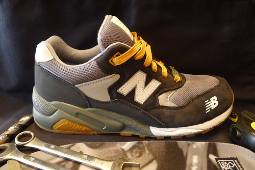 "Burn Rubber x New Balance ""Blue Collar"""