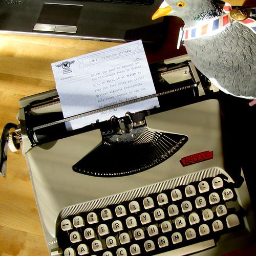 giveaway typewriter 3