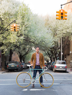 Bike Portrait: Jesse the Art Dealer