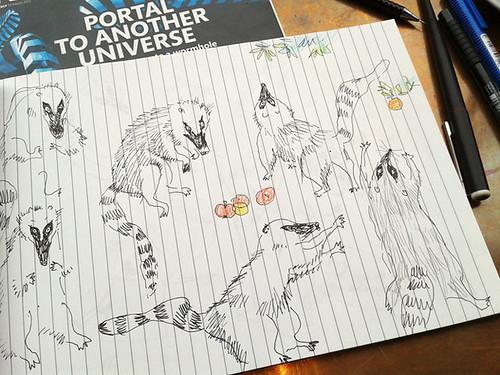 scribbles i